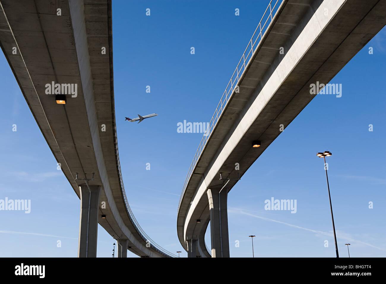 Des autoroutes Photo Stock
