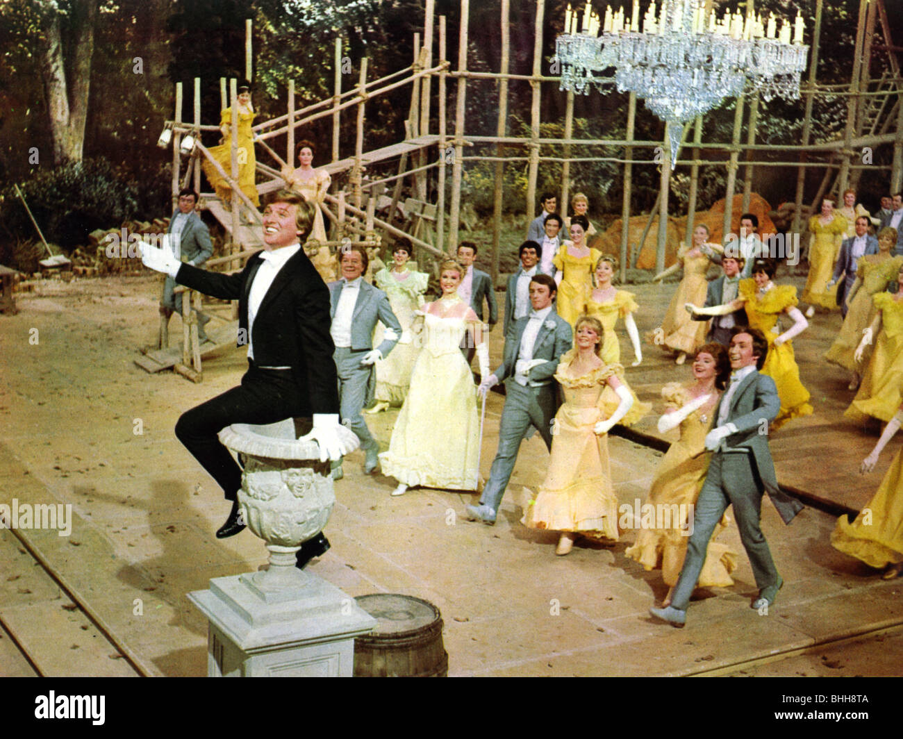 La moitié d'un SIXPENCE -1967 Paramount film avec Tommy Steele Photo Stock