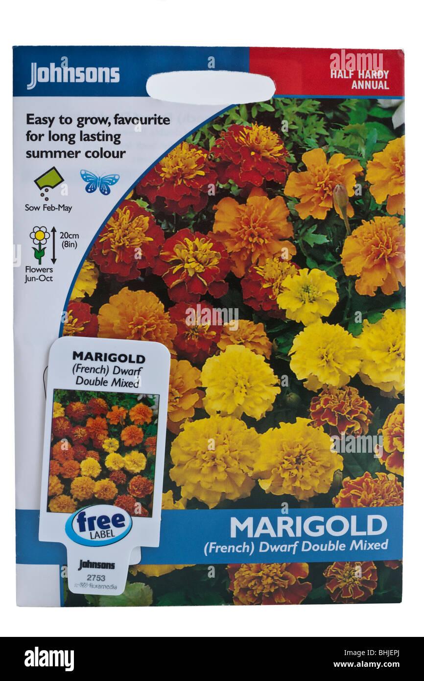50 graines Kings Semences-Marigold Français Fireball