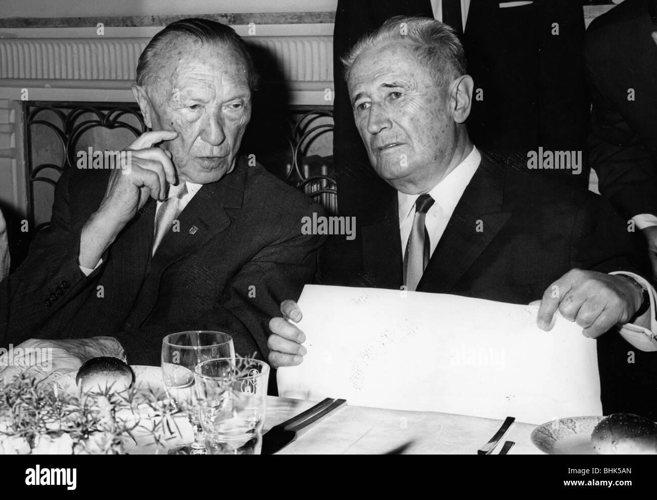 Nahum Goldmann (1894-1982), juif et sioniste Leader. Artiste: Inconnu Banque D'Images