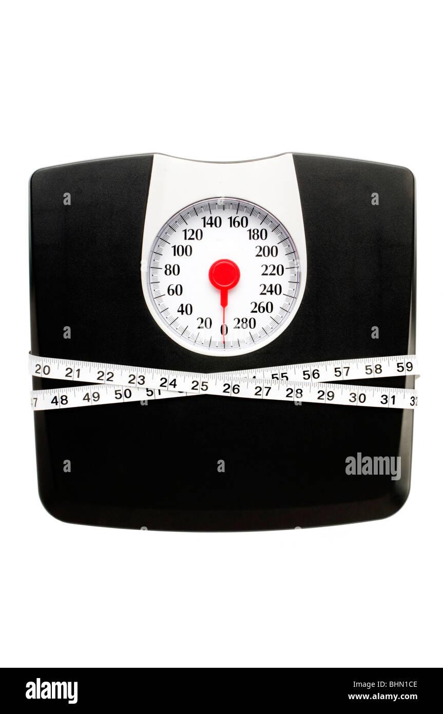 échelle de poids Photo Stock