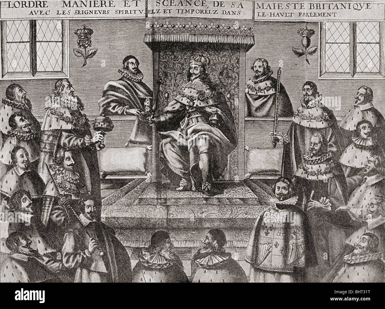 Charles i photos charles i images alamy - Chambre des lords angleterre ...