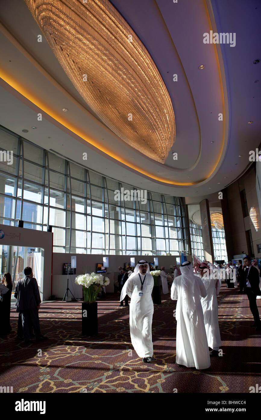 Riyadh Arabie Saoudite royaume d'affaires conférence Photo Stock