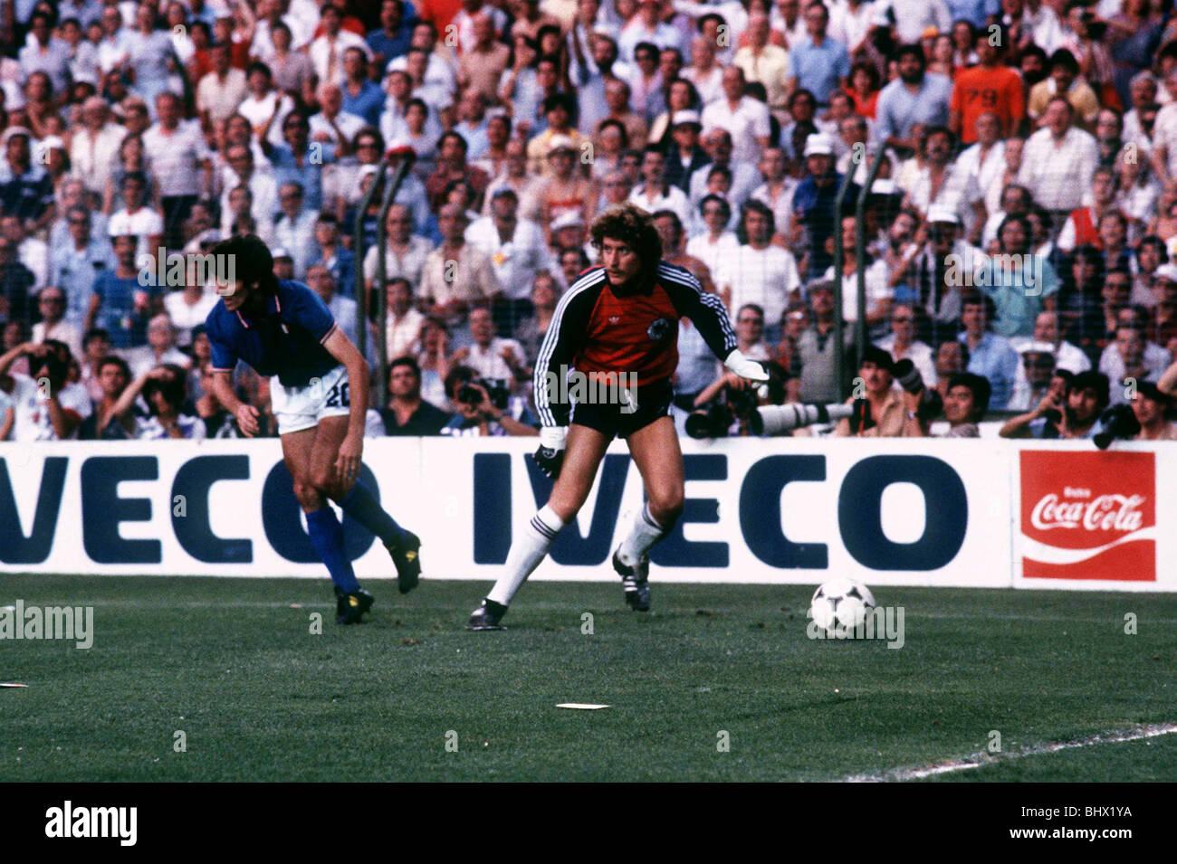 football world cup final 1982 photos football world cup final 1982 images alamy. Black Bedroom Furniture Sets. Home Design Ideas