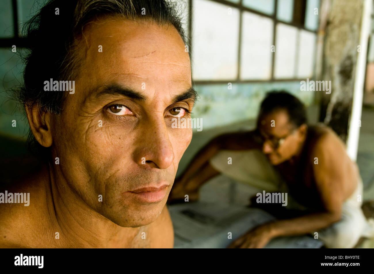 Saints hommes Indiens Banque D'Images