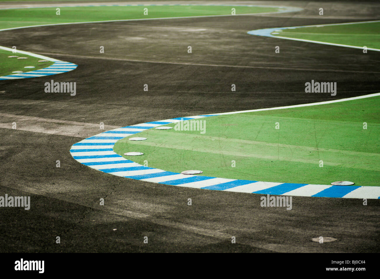 piste de course Photo Stock