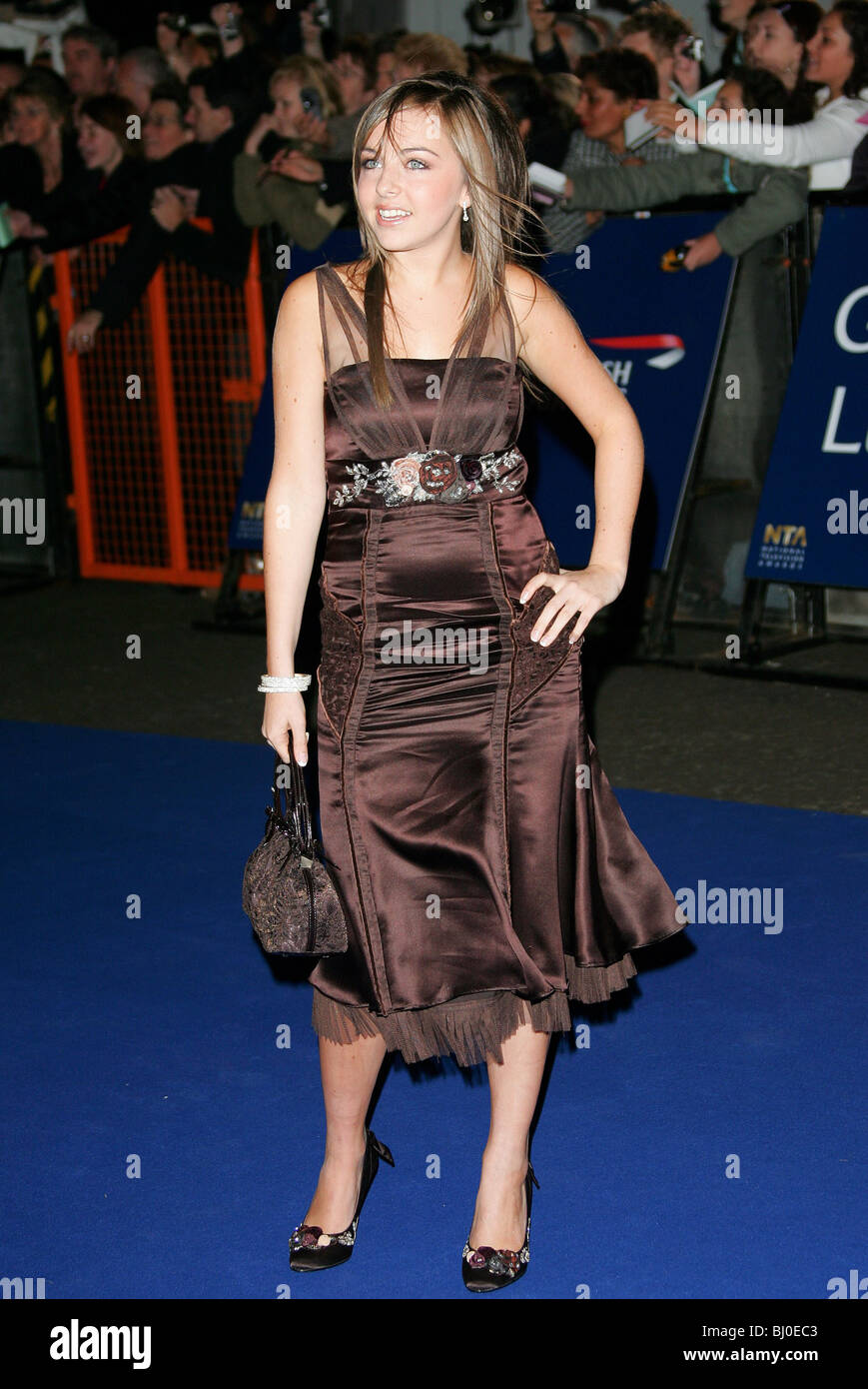 LOUISA LYTTON ACTRICE Royal Albert Hall Londres Angleterre 25/10/2005 Banque D'Images