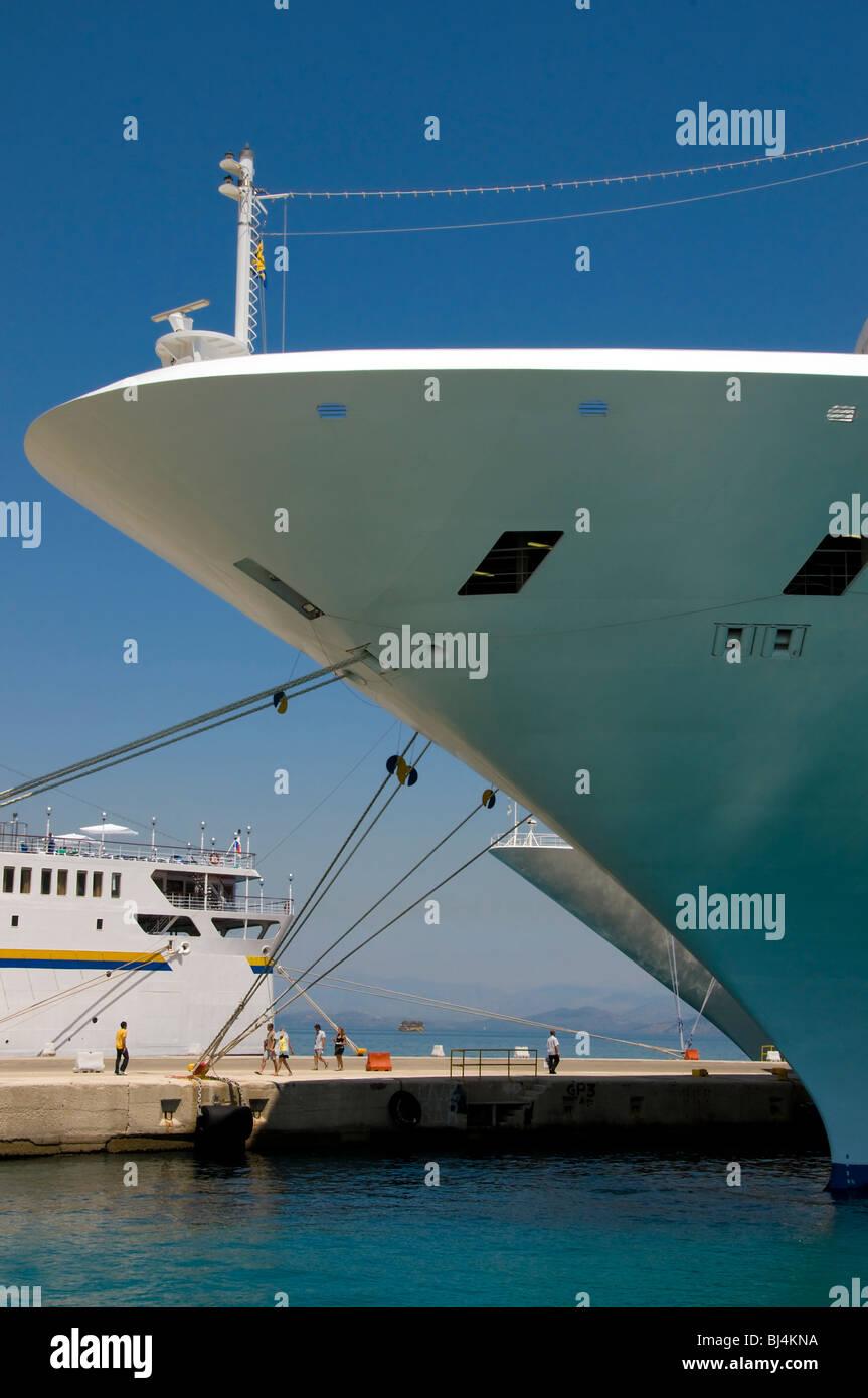 Navires de croisière Photo Stock