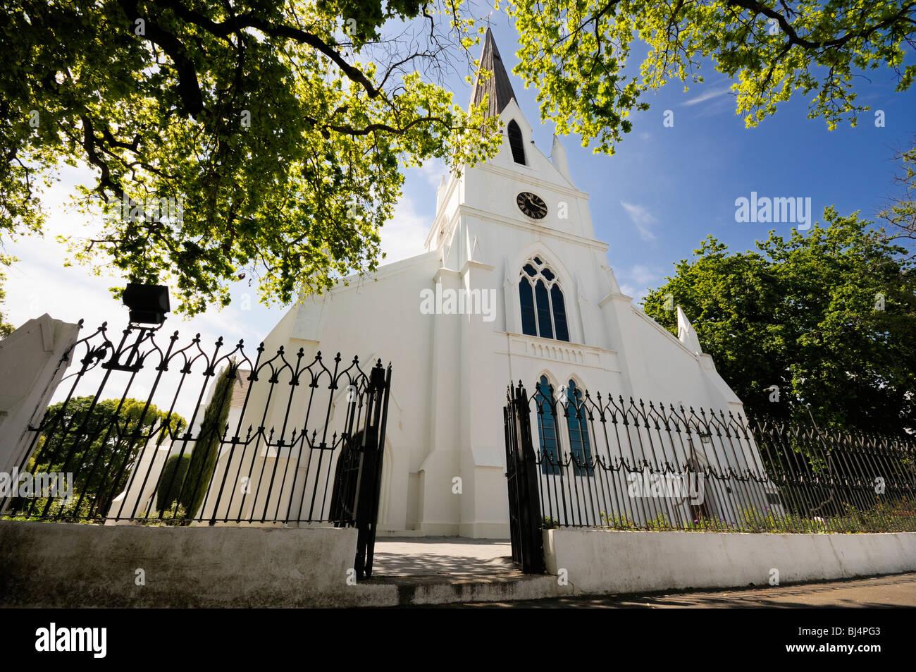 Église Moederkerk, Stellenbosch, Province du Cap, Afrique du Sud, l'Afrique Banque D'Images