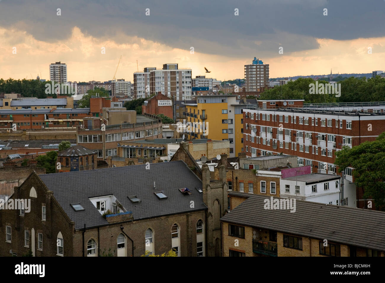 East London Skyline Photo Stock