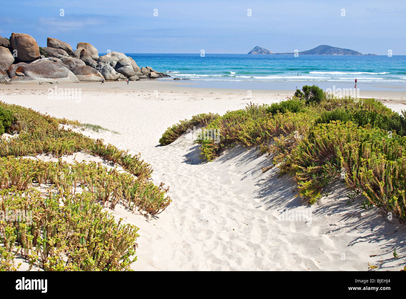 Whiskey Bay, Wilsons Promontory National Park, Victoria, Australie Banque D'Images