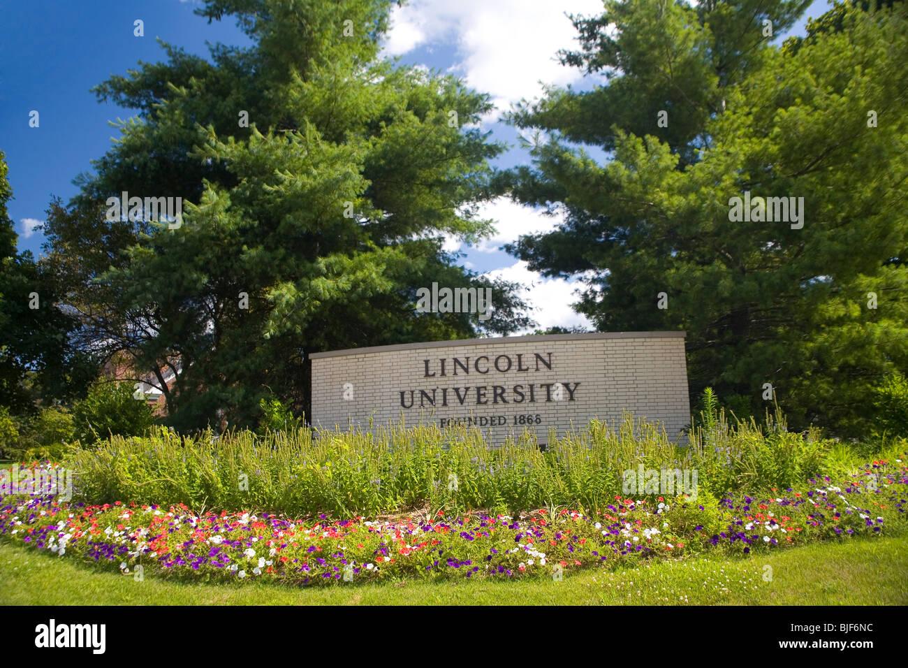 L'Université de Lincoln Photo Stock