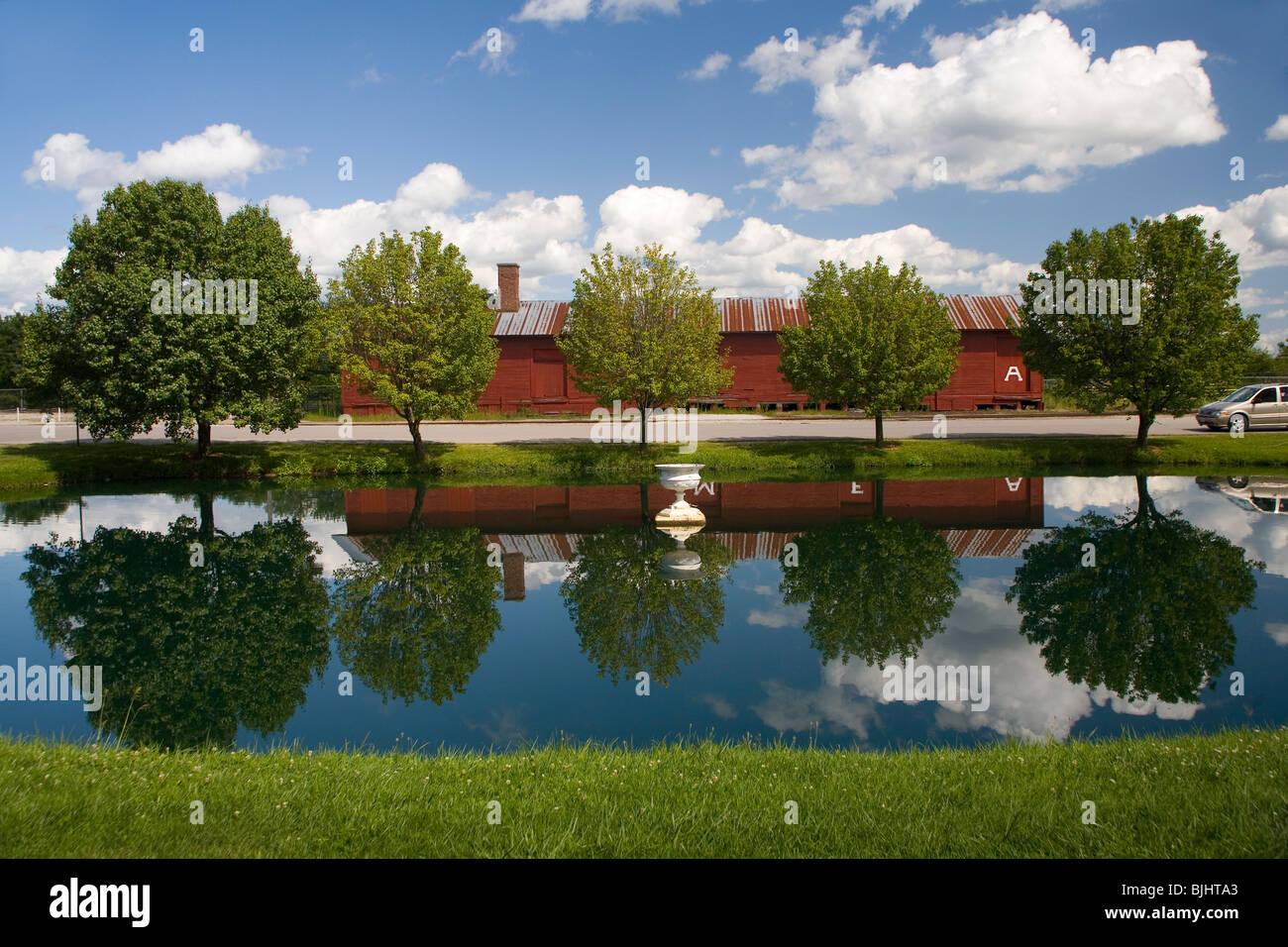 Parc de Ripley Photo Stock