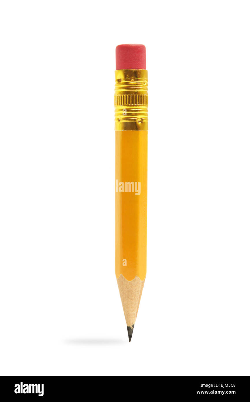 Crayon de courte Photo Stock