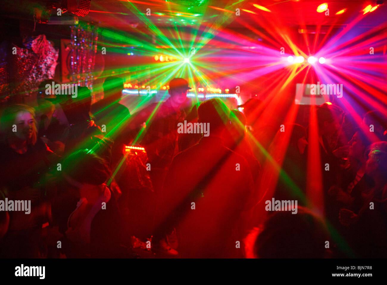 Partie dans le club à Dalston Superstore Dalston dans Hackey, Londres. Photo Stock