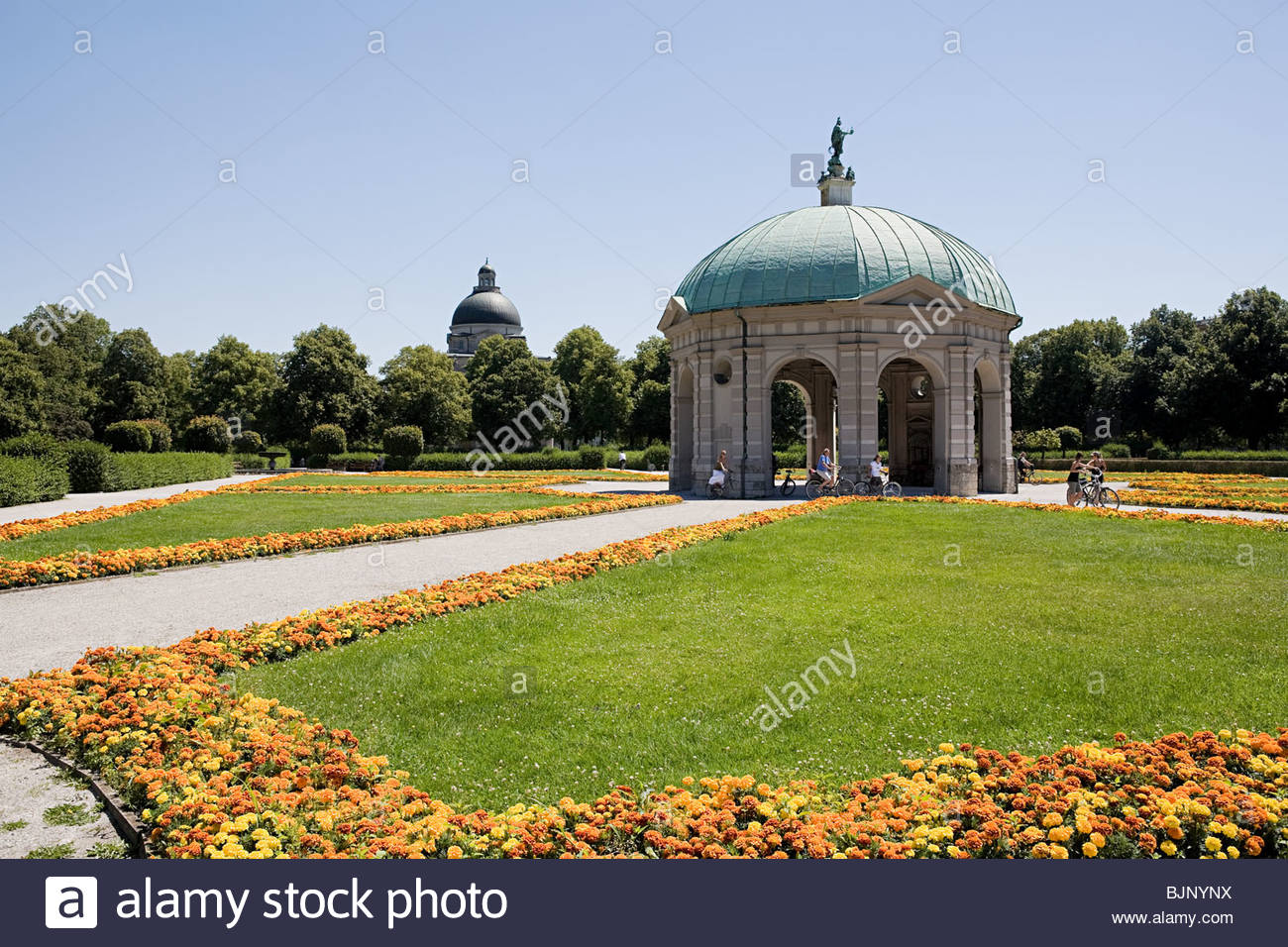 Munich Hofgarten Photo Stock