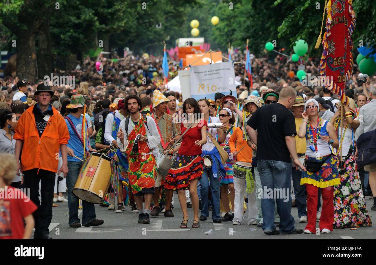 Karneval der Kulturen, Carnaval des Cultures, Berlin, Kreuzberg, Germany, Europe Photo Stock