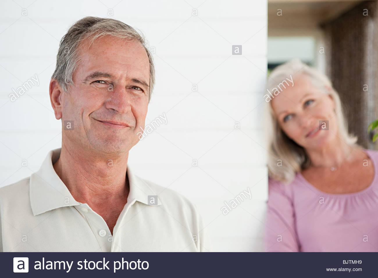 Couple senior Photo Stock