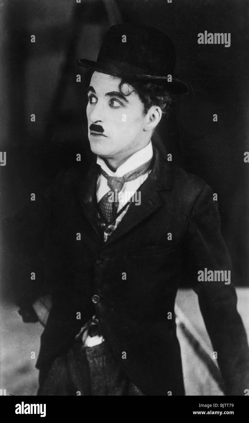 Charlie Chaplin (1889-1977), acteur anglais/américain et commedian, 1928. Photo Stock