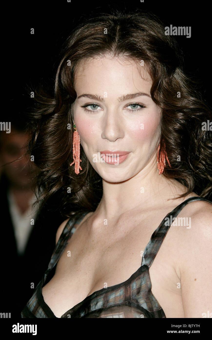 LYNN COLLINS LE MARCHAND DE VENISE de L.A. P CINERAMA DOME HOLLYWOOD LOS ANGELES USA 09 novembre 2004 Photo Stock
