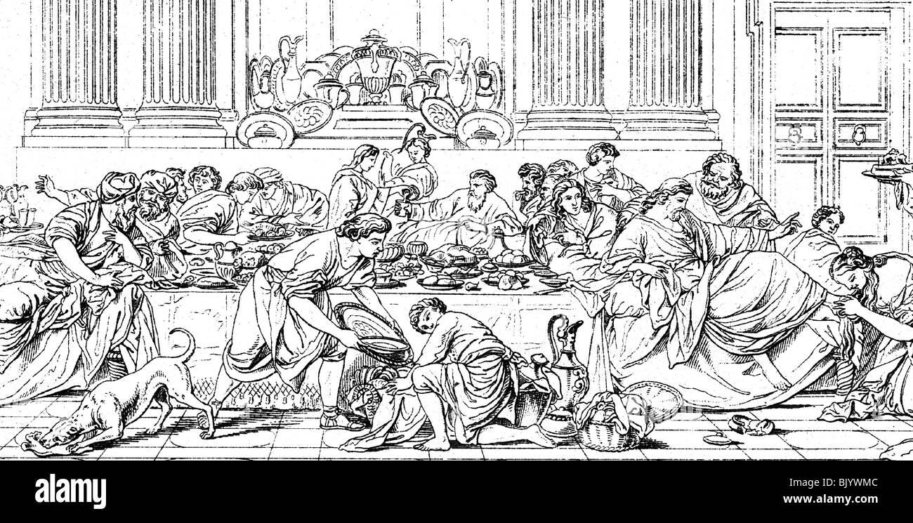 Empire romain orgie