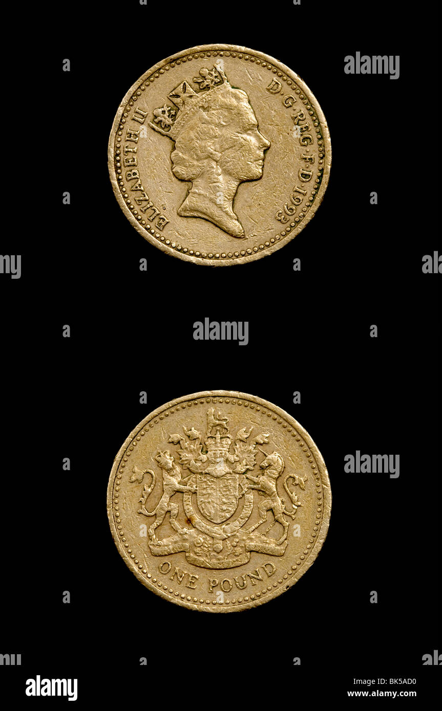 One Pound Coin Photos One Pound Coin Images Alamy