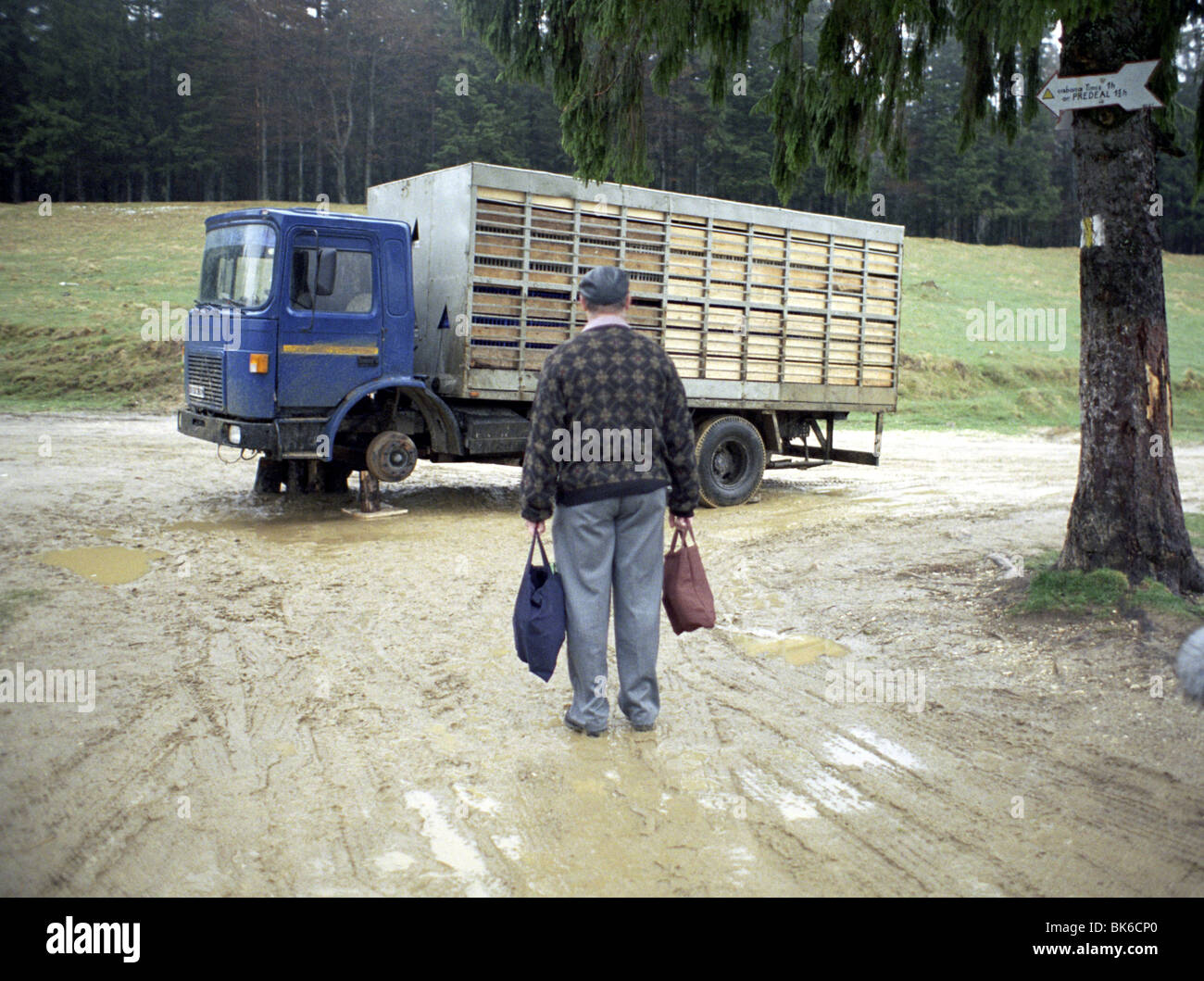 Amintiri din epoca de aur la légende de l'année chickendriver 2009 Administration de Cristian Mungiu, Photo Stock