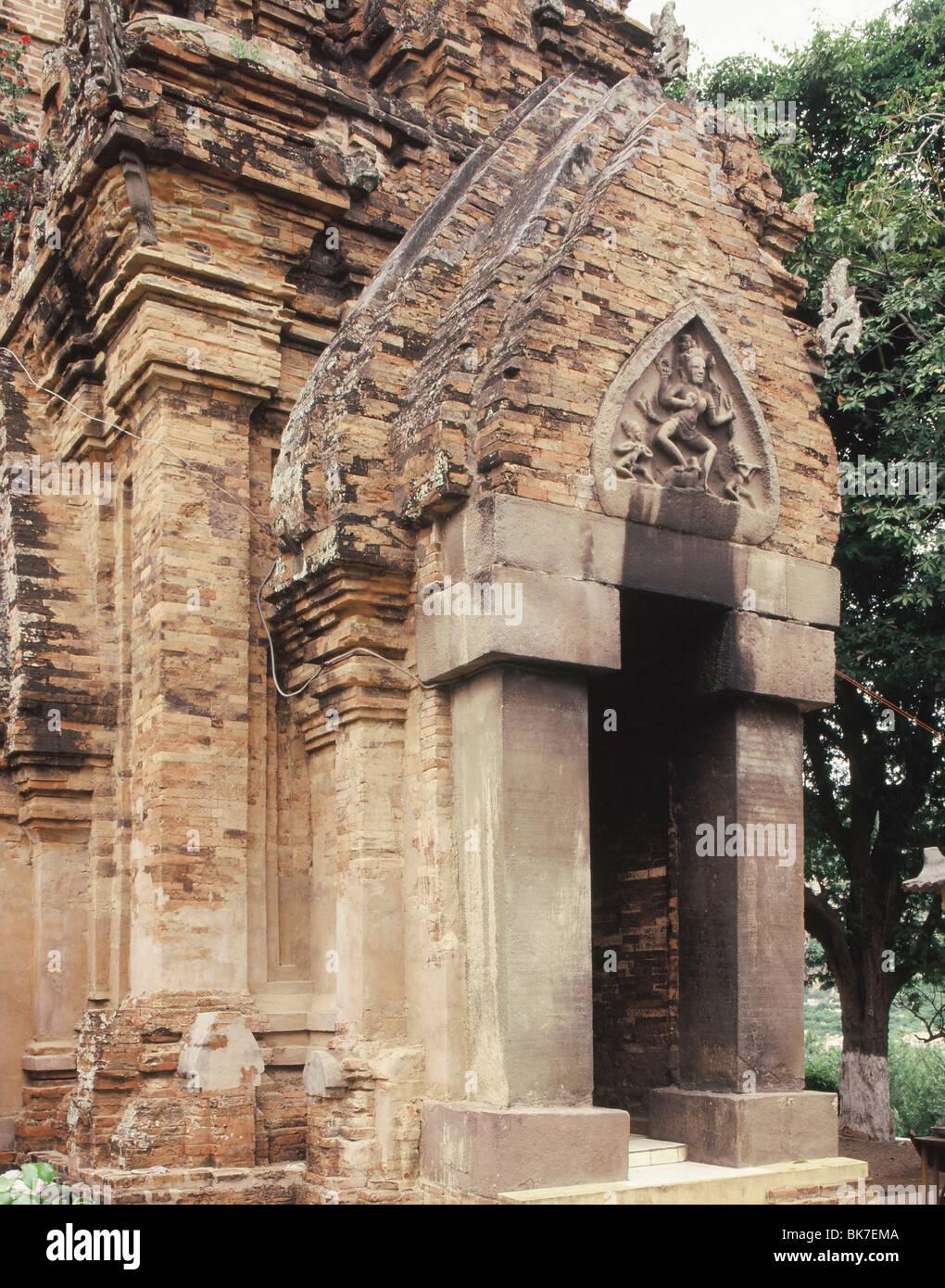Po Nagar, Temple Cham, Nha Thrang, le Vietnam, l'Indochine, l'Asie du Sud-Est, Asie Photo Stock