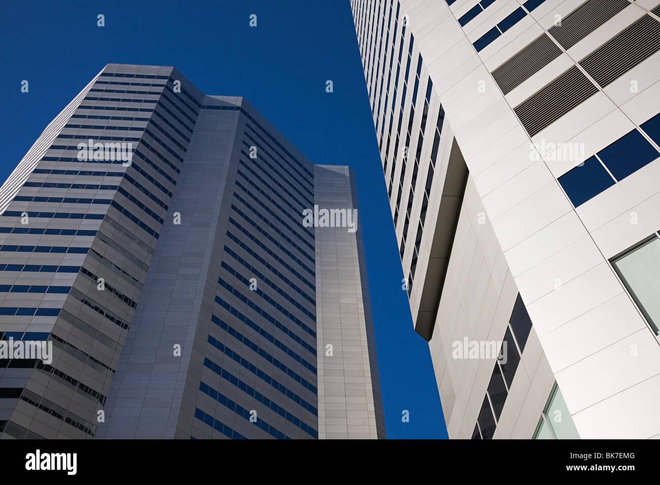 Les immeubles de bureaux Photo Stock