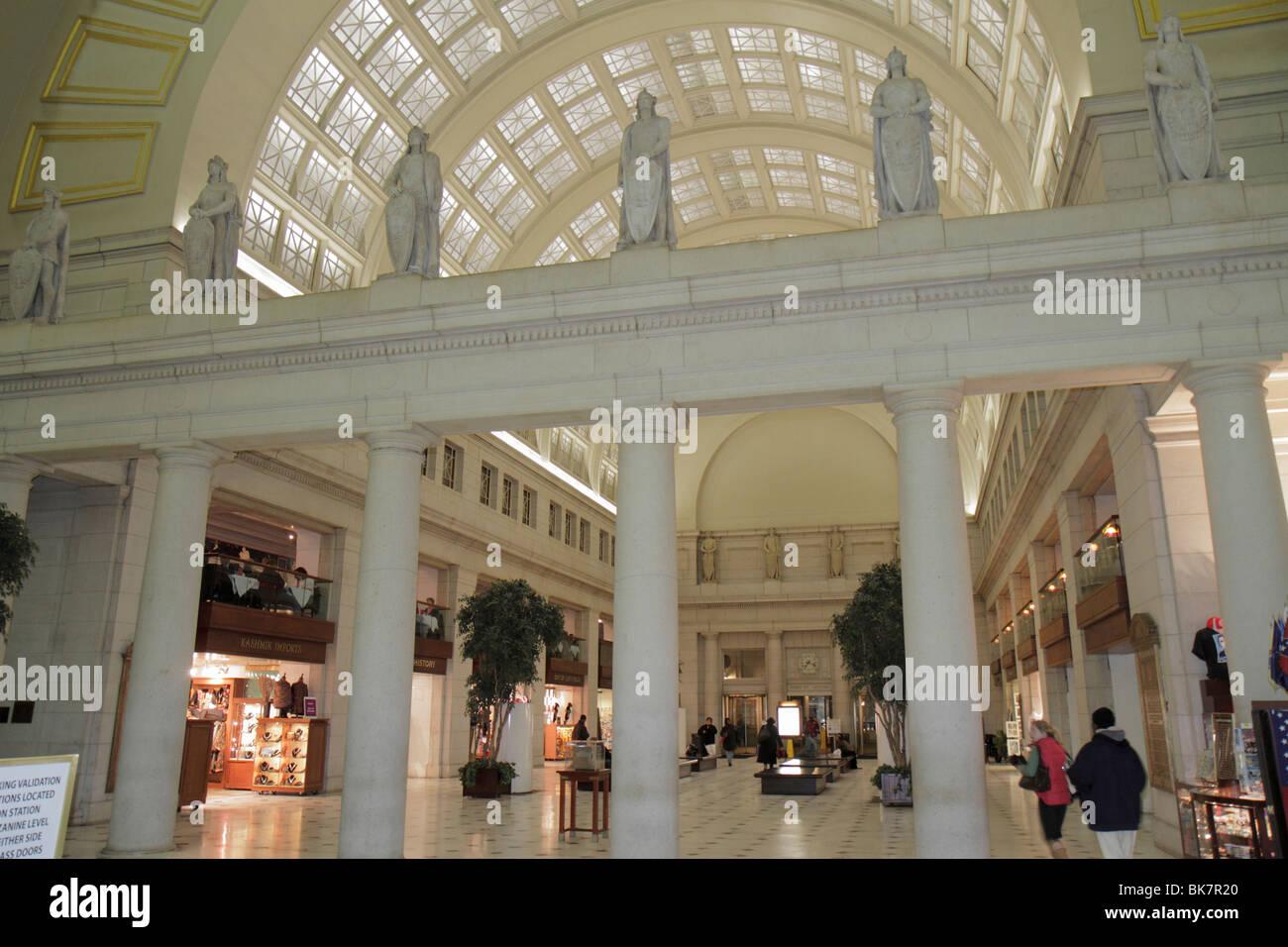 Union Station Washington DC 1907 gare historique de l architecture  Beaux-Arts voûte transport 99c0bf0db192