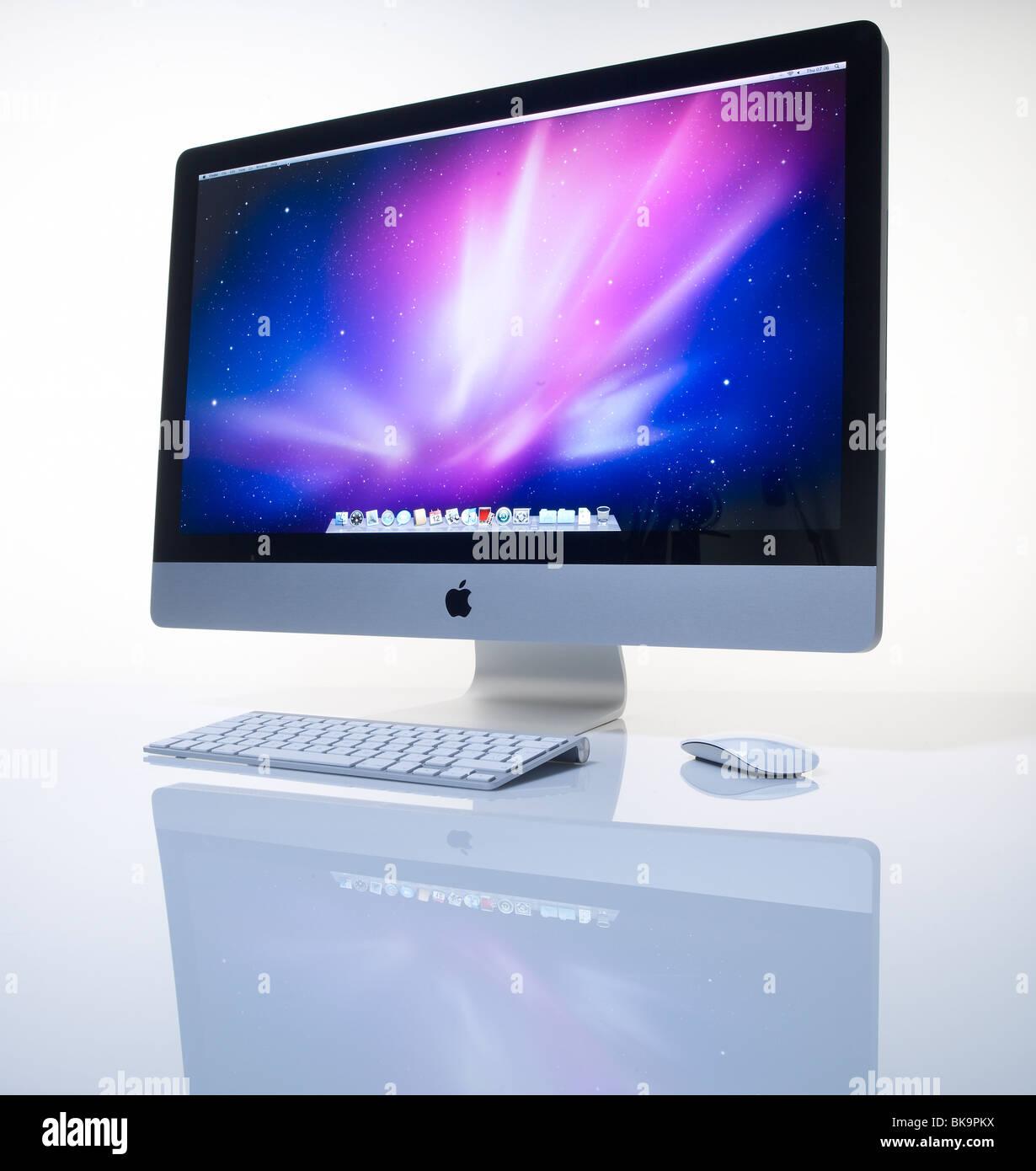 27 pouces cran ordinateur apple imac banque d 39 images photo stock 29104206 alamy. Black Bedroom Furniture Sets. Home Design Ideas