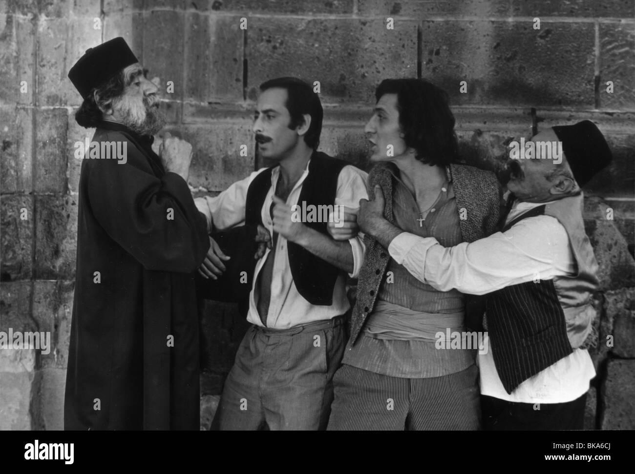 Ktor moi yerkinq Année: 1980 Réalisateur: Henrik Malyan, Guenrikh Ashot Adamian Malien Photo Stock