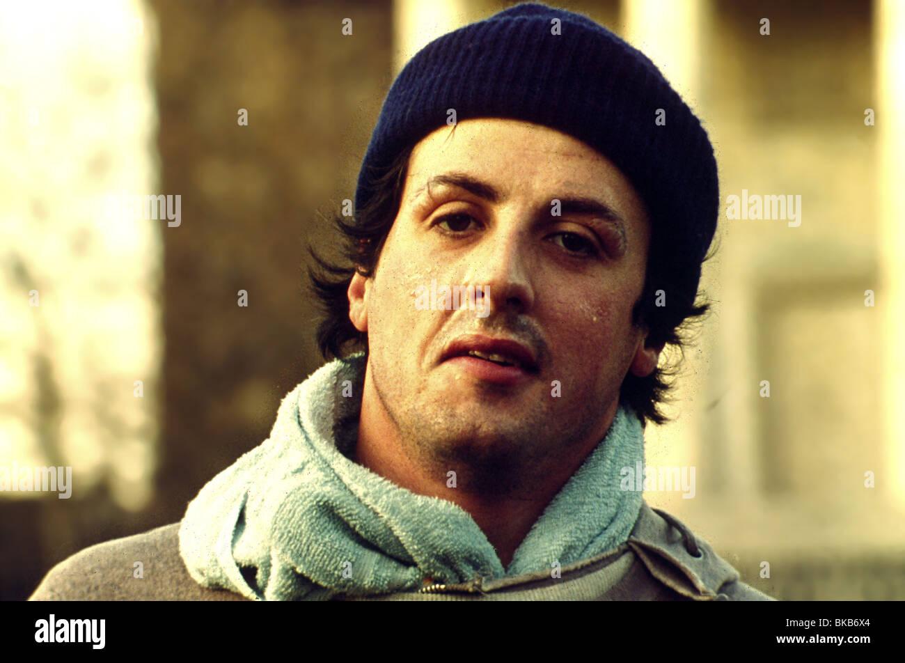-1976 ROCKY Sylvester Stallone Photo Stock