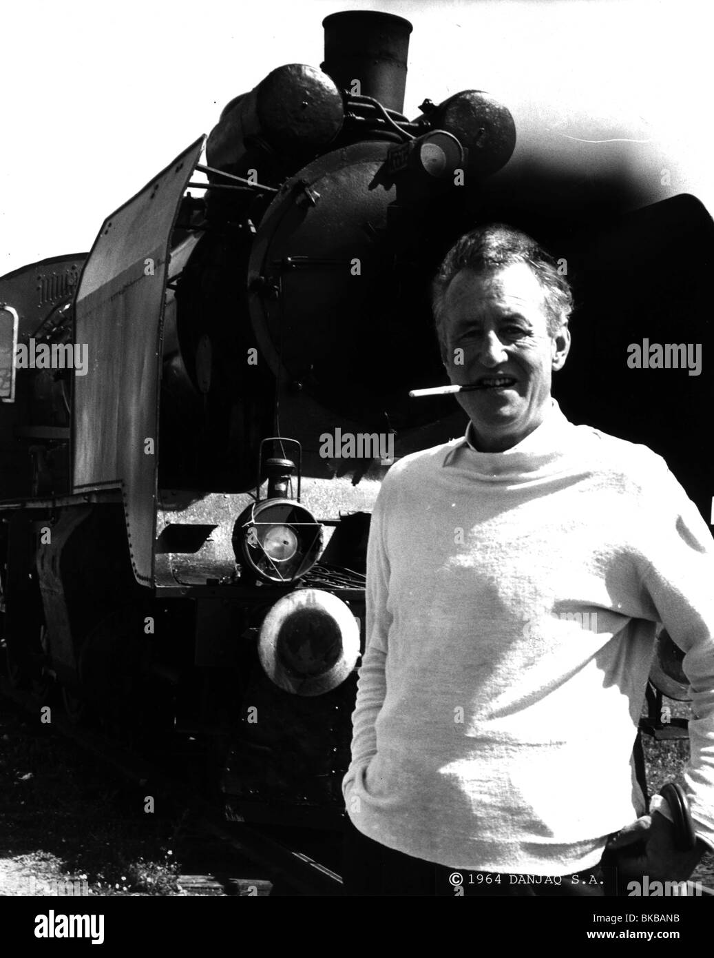 IAN FLEMING (WRI) Portrait 1964 Photo Stock