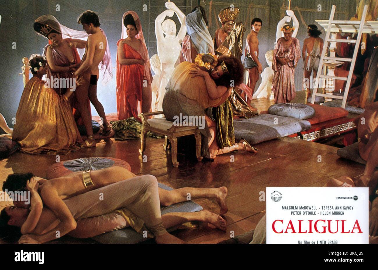 CALIGULA -1980 Photo Stock