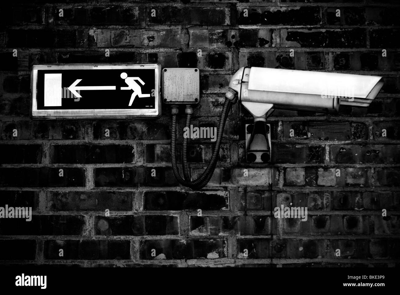 Système de contrôle vidéo Photo Stock