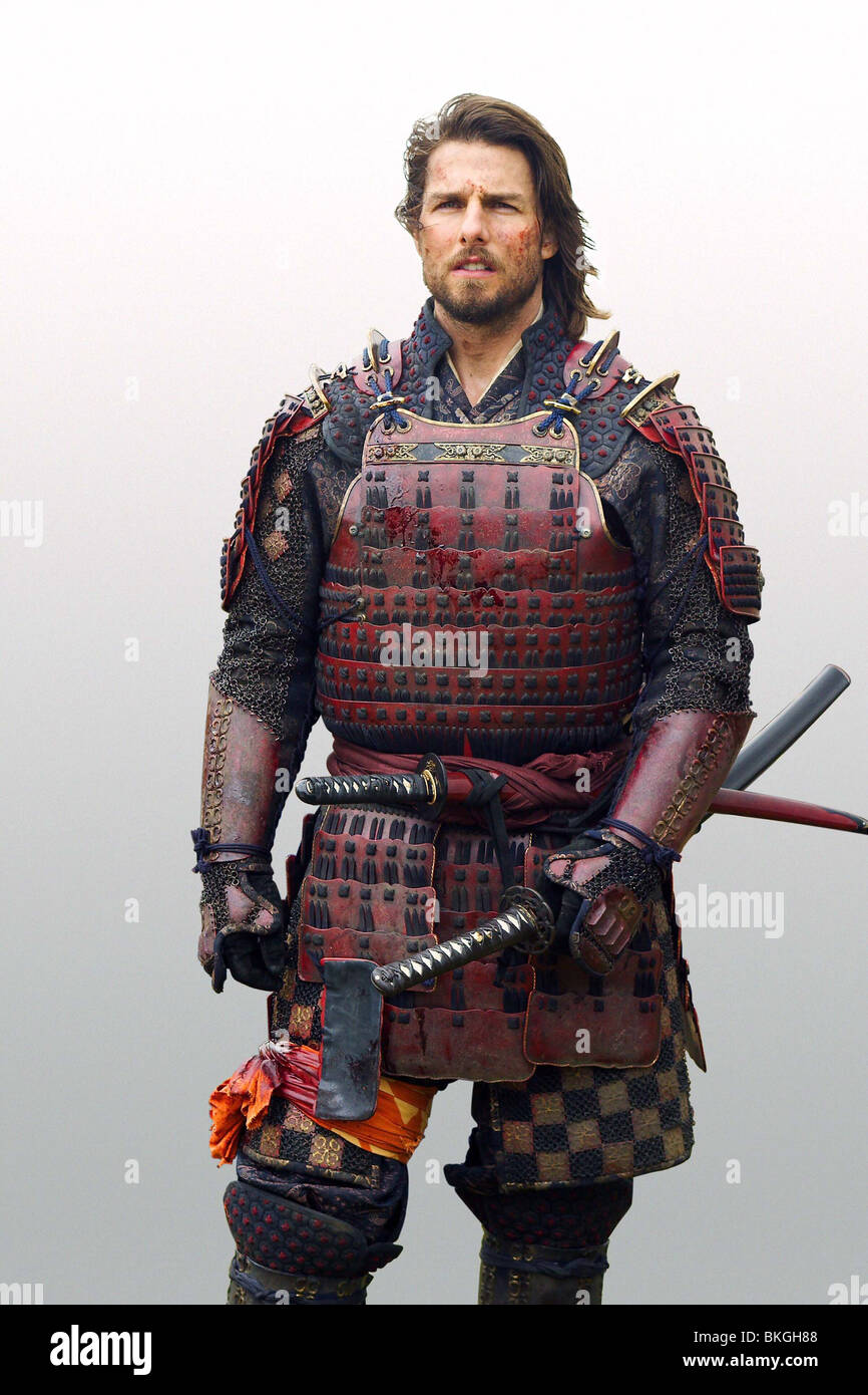 Le dernier samouraï (2003) TOM CRUISE LSMU 002-AD Photo Stock