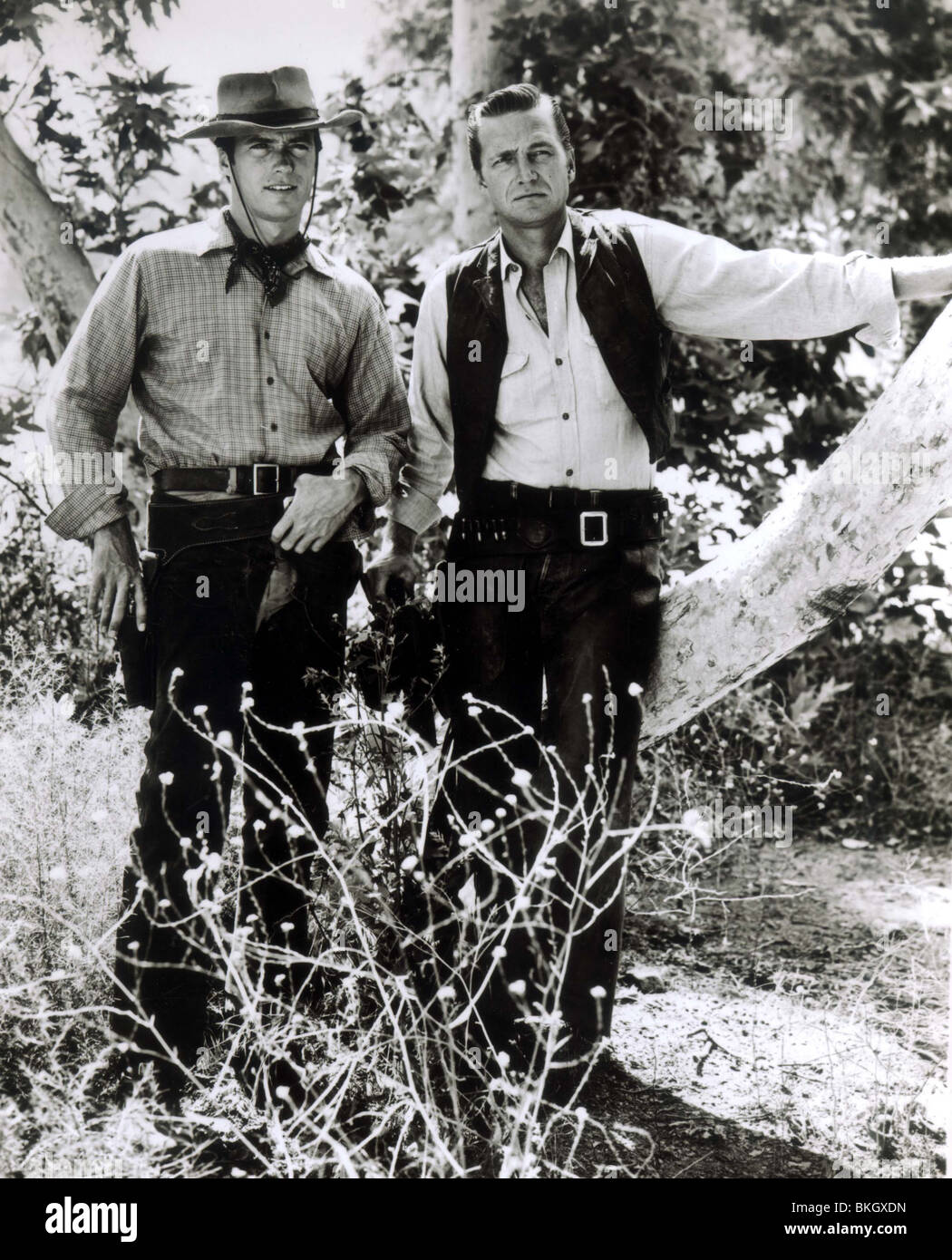 RAWHIDE (TV) CLINT EASTWOOD, ERIC FLEMING RWH 020P Photo Stock