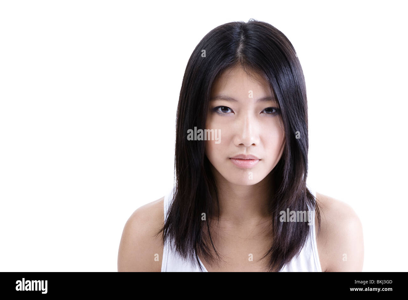 Asian girl portrait Banque D'Images