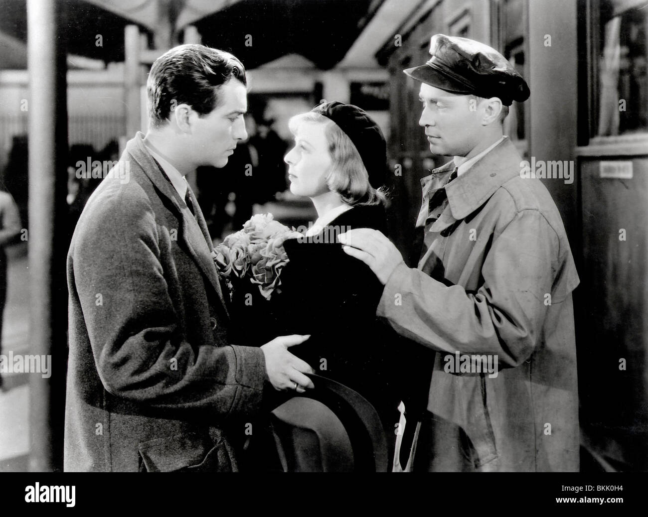 Trois camarades (1938) ROBERT TAYLOR, MARGARET SULLAVAN, FRANCHOT TONE TREC 007 P Photo Stock