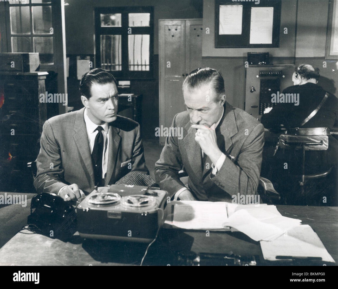 Détective INTERNATIONAL (TV) ARTHUR FLEMING INDT 006P Photo Stock