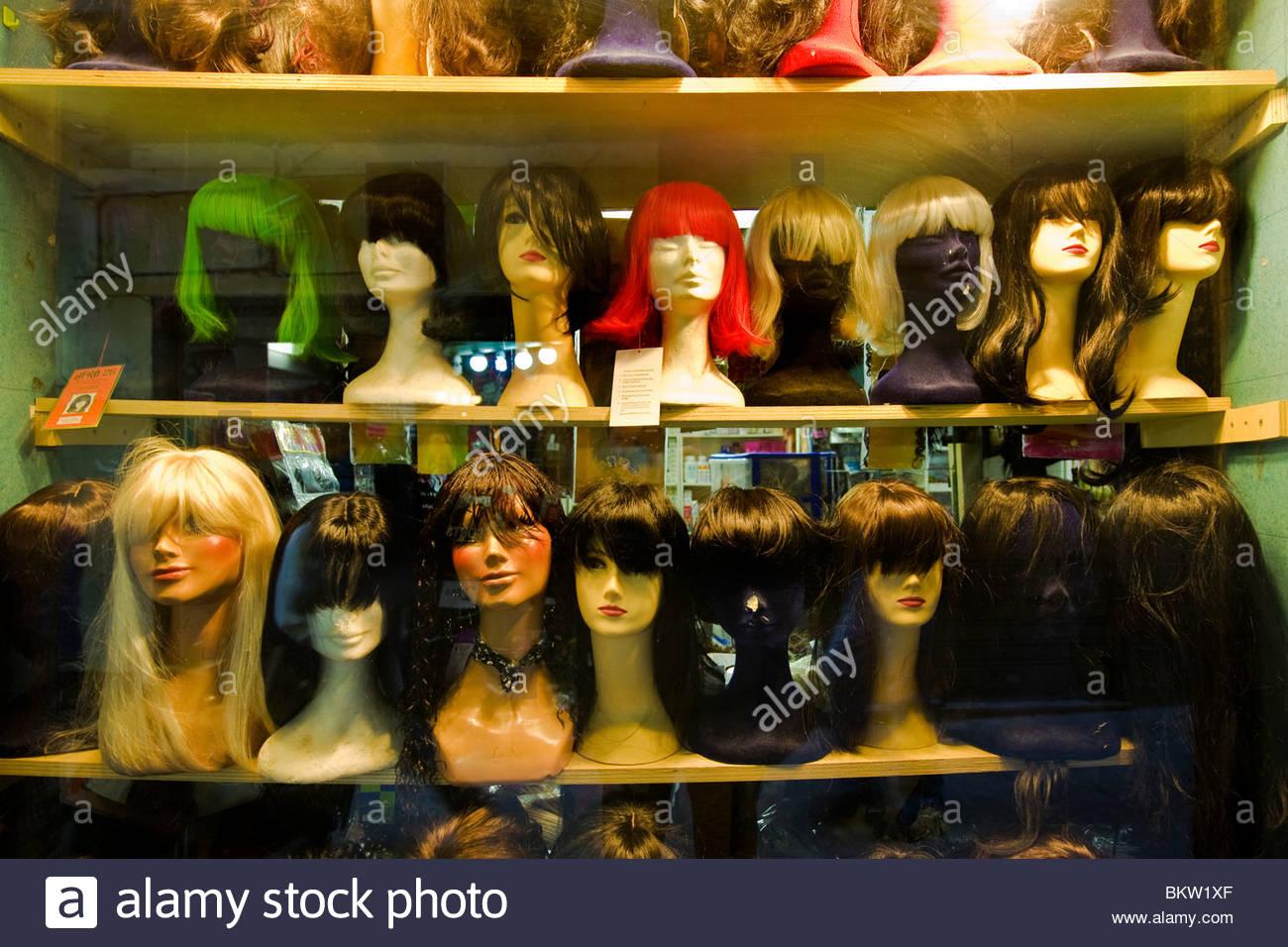 Gênes, ligurie,perruques,Italie Photo Stock