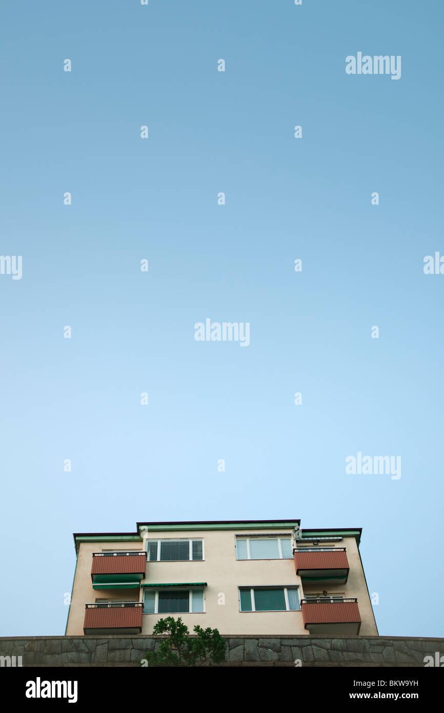 Chambre contre le ciel bleu Photo Stock