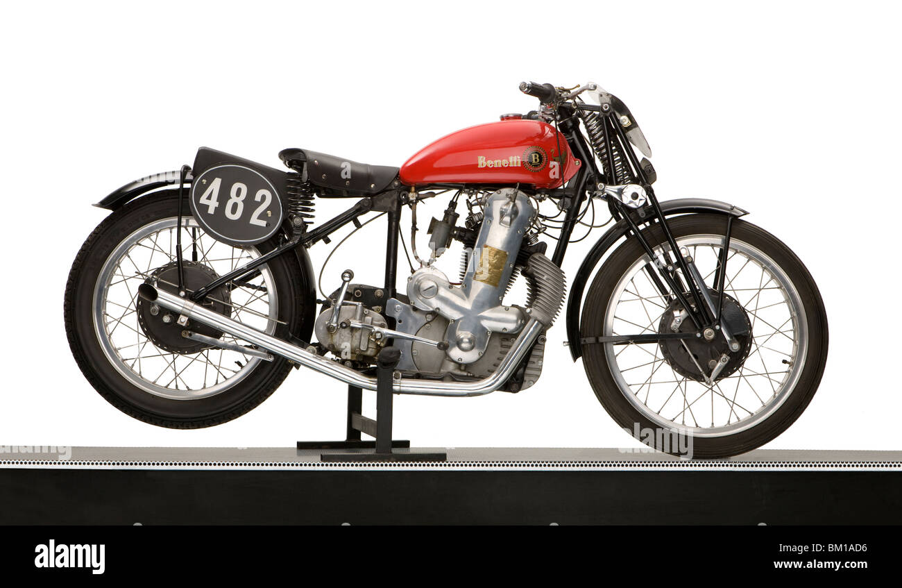 1937 Suzuki 493cc 'Cascada' moto de course Banque D'Images