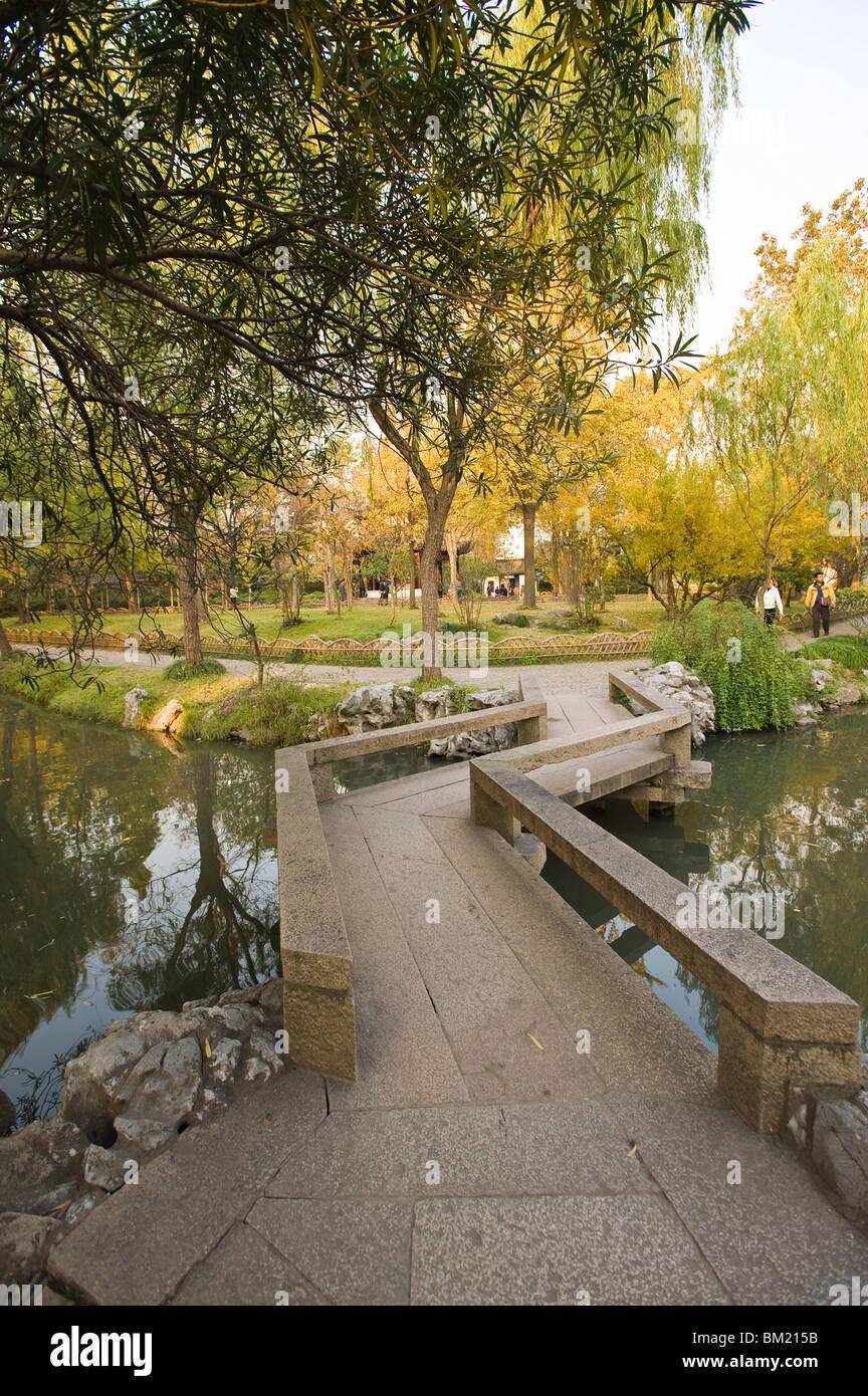 L'Humble Administrator's Garden, Suzhou, Jiangsu, Chine Photo Stock
