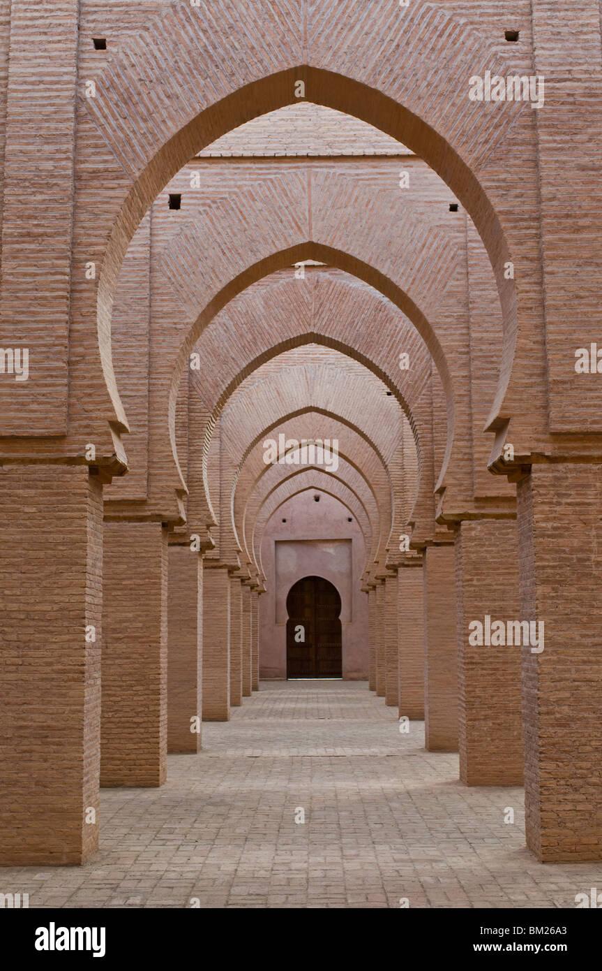 La mosquée de Tin mal dans le Haut Atlas, Maroc, Afrique du Nord, Afrique Photo Stock