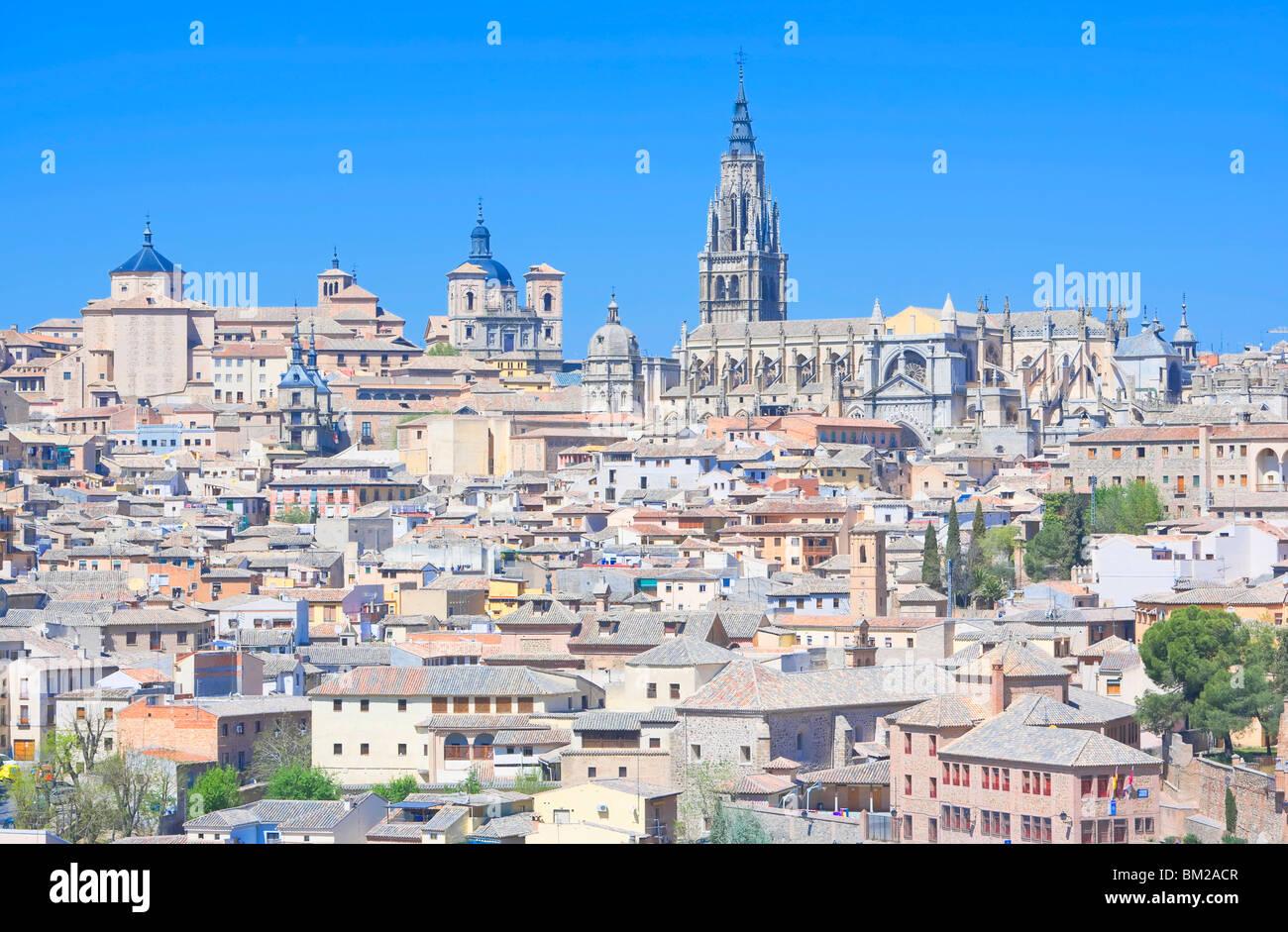 La ville de Toledo, Toledo, UNESCO World Heritage Site, Castille La Manche, Espagne Photo Stock