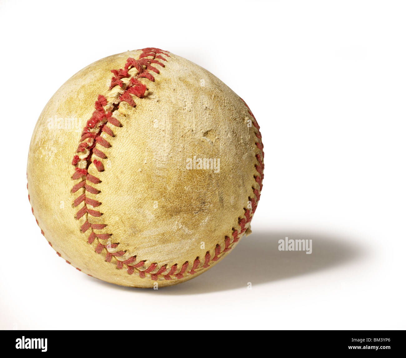 Baseball vieux Photo Stock