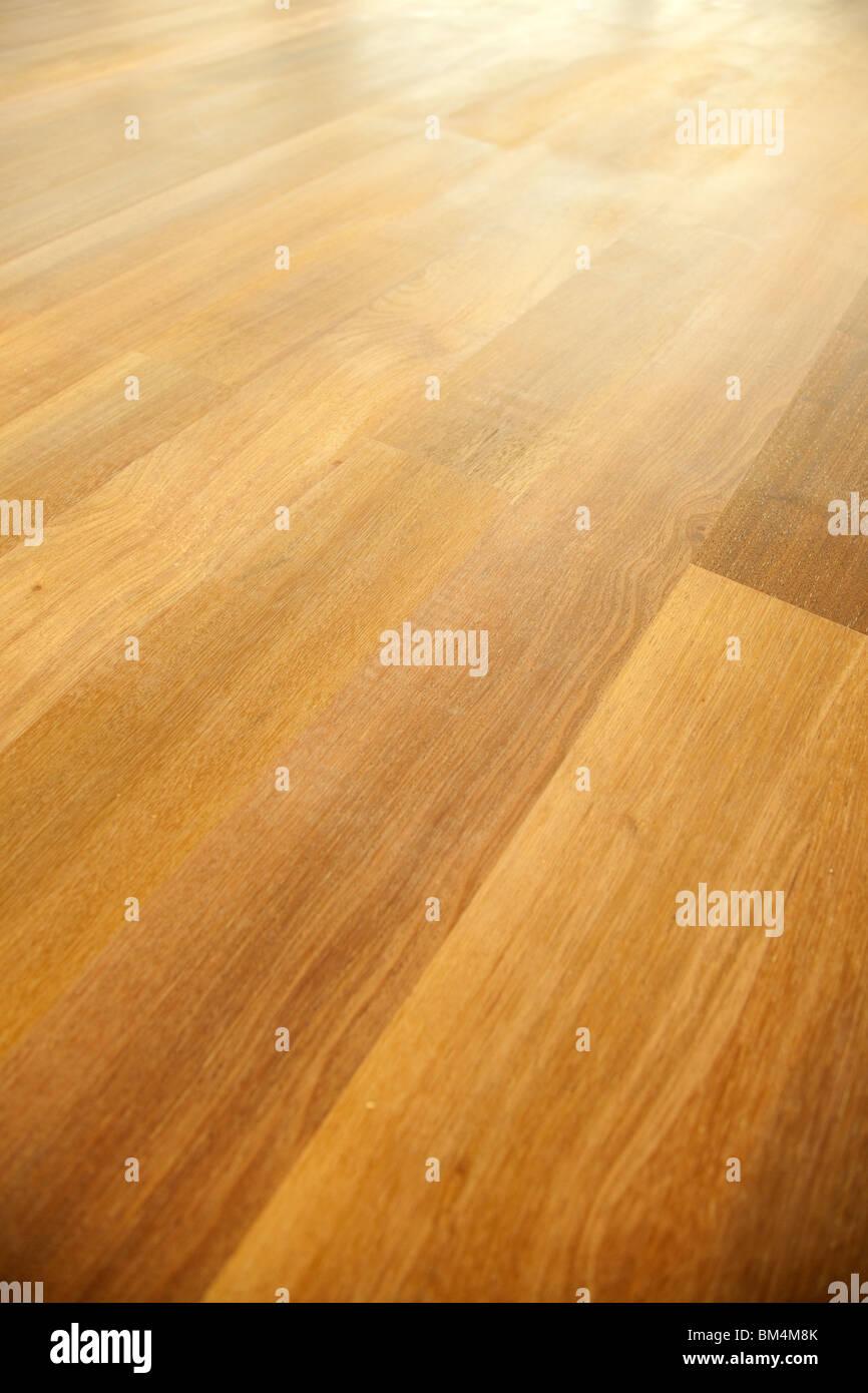 plancher en bois Photo Stock