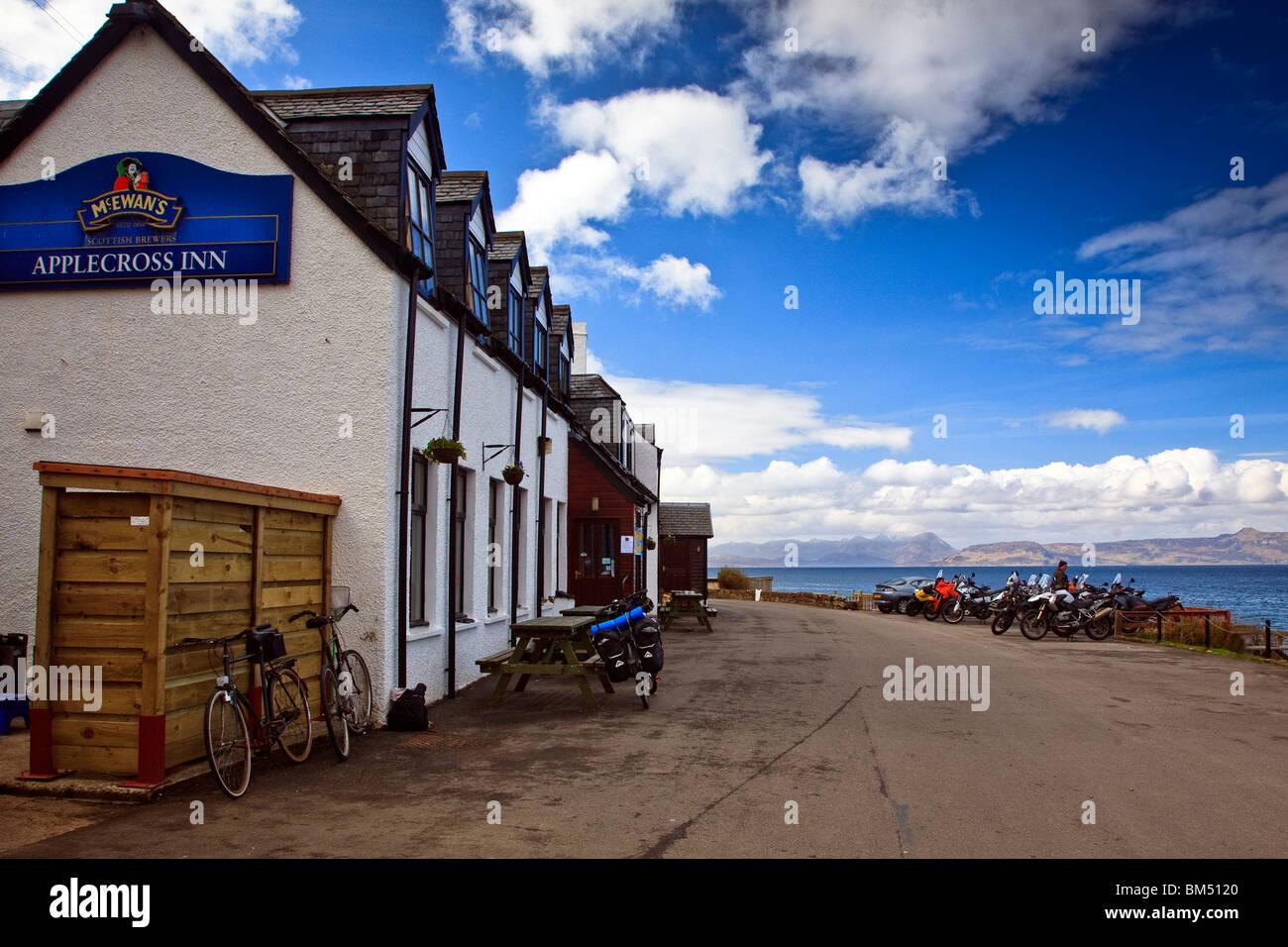 Saint-Inn, Wester Ross de la côte ouest de l'Écosse Highlands Grande-bretagne UK 2010 Photo Stock